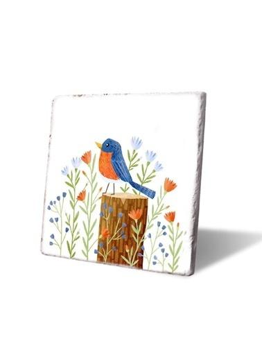 LWP Shop Mavi Kuş Nihale Renkli